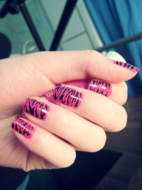 Hot Pink Nail Designs Tumblr@^*