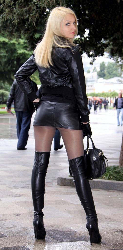 leather milf tumblr
