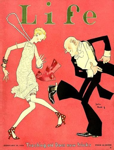 Couverture du magazine Life, Février 1926.