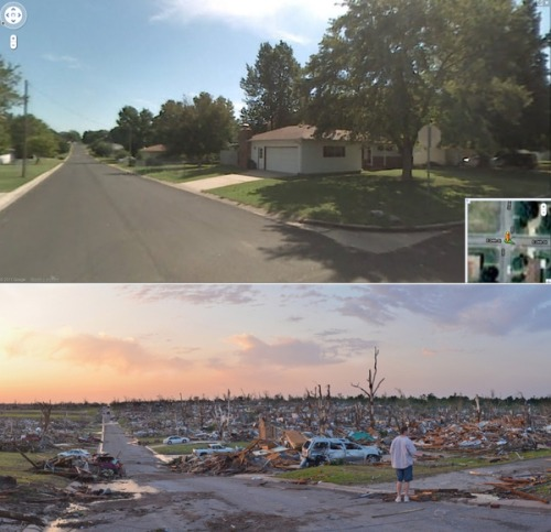 Joplin before and after