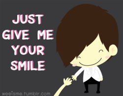 <br /><br /><br /><br /><br /> JUST GIVE ME YOUR SMILE<br /><br /><br /><br /><br /> #wesupportdaesung