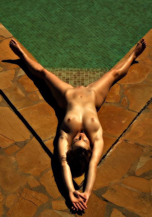 Let's go in the pool hun. ;]
