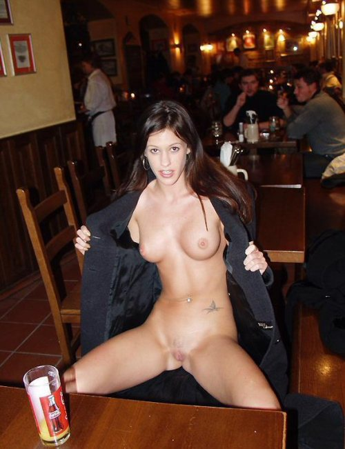Naked bar wife Vacation Wife