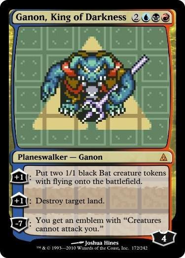ganon magic card