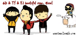 [FANART] ★ GD & TY & V.I  @  NEW ZEALAND</p><br /><br /><br /><br /> <p>and…. TOP too x)