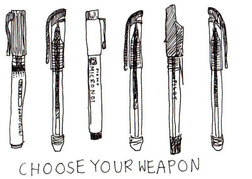 Writer's Weapons