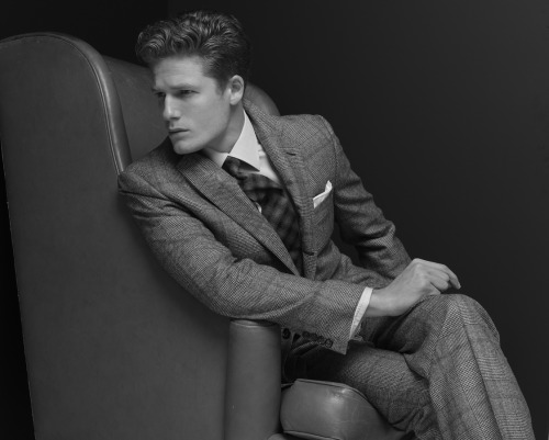 dulcedomodels:Doesn't Kyle look handsome in this gorgeous shot by Rodney Keith Folkerts?! We love a man in a suit and he looks ridiculously good in his!