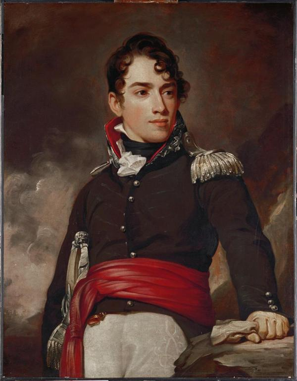 Nec Spe Metu Thomas Sully Portrait Of Captain Jean