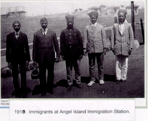 """First wave of Indian migration to the United States through California. ""(photo: http://mycupofchai.tumblr.com)"