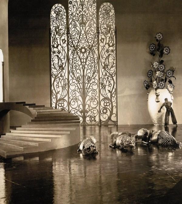 Douglas Fairbanks Moorish Art Deco-inspired