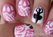 totally cool nails - ballet dance