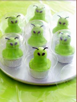 Alien Invasion Cupcakes