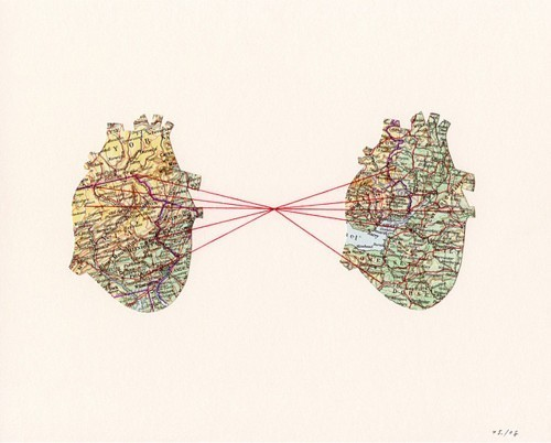 An invisible red thread connects those who are destined to meet, regardless of time, place, or circumstances. The thread may stretch or tangle but will never break.