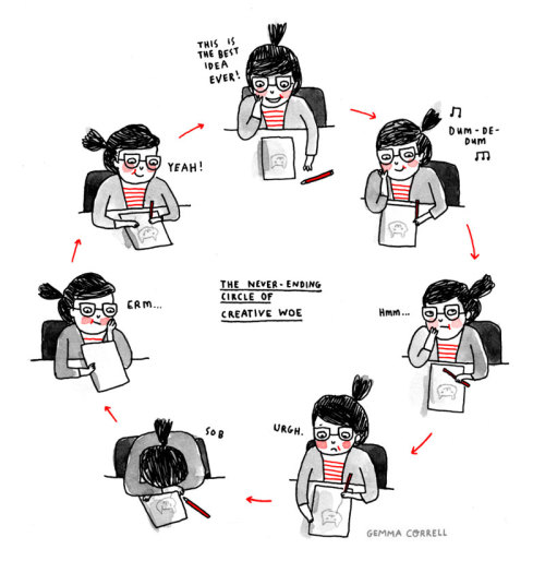 Featured Artist: Gemma Correll (6/6)