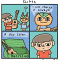 All my animal crossing comics have a hint of sorrow to them it