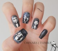 omnails: The Nightmare Before Christmas nail art ...