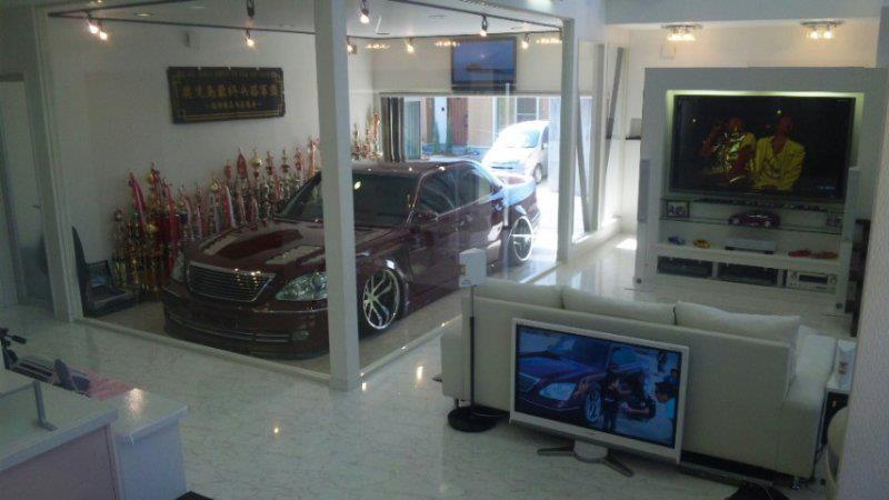 The Garage Living Room