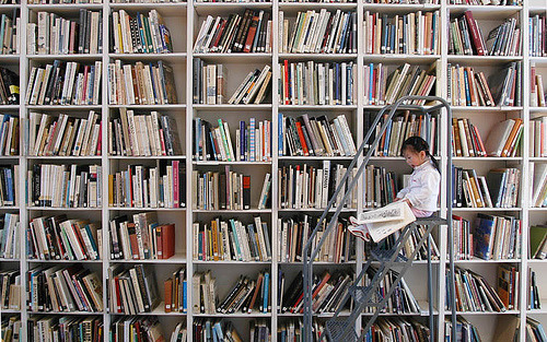 fewmorepages:</p> <p>Tome Reader by Ozyman, on Flickr<br />