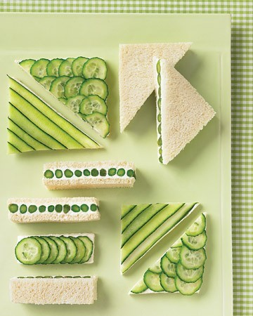 SUBMISSION: Cucumber Sandwiches. :)