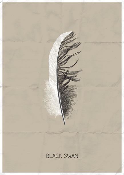 Black Swan by Sof Andrade Society6  Behance