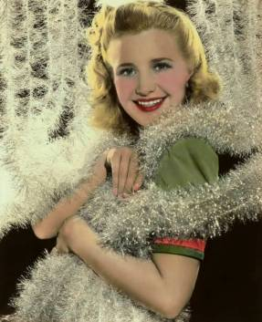 the-asphalt-jungle:</p><br /> <p>Priscilla Lane -Christmas 1940s<br /><br />