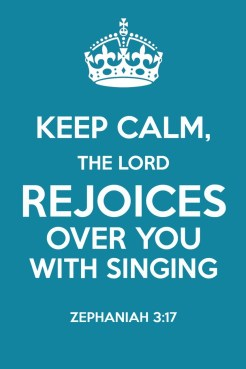 The Lord Rejoices Over You: Zephaniah 3:17