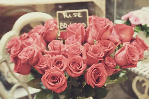 I want flowers…