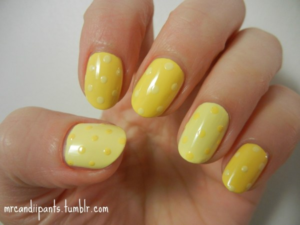 Prettyproject - Mrcandiipants Day 3 Means Yellow Nails