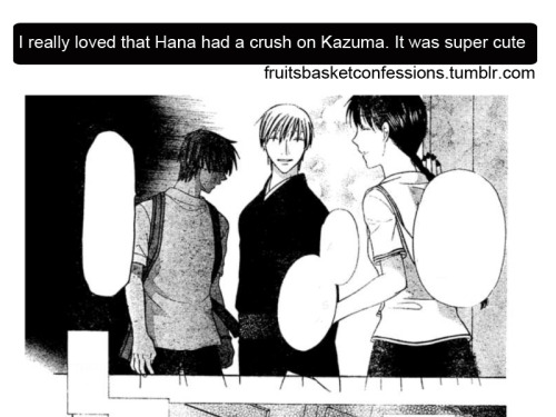 """I really  loved that Hana had a crush on Kazuma. It was super cute"""
