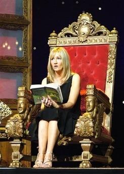 J. K. Rowling reads.