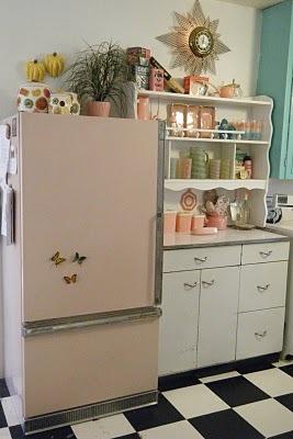 1950 Atomic Kitchen Decor Afreakatheart
