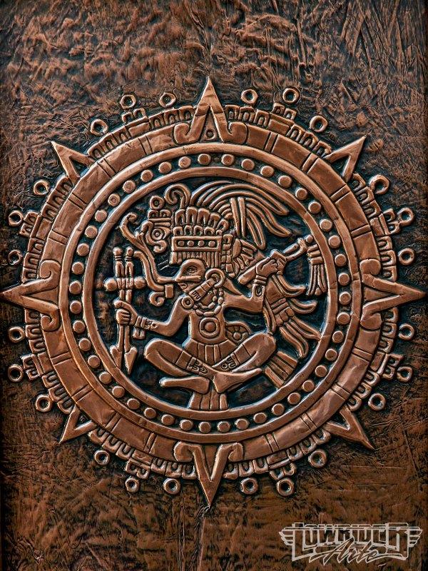 Mayan Art - Patterns Prints