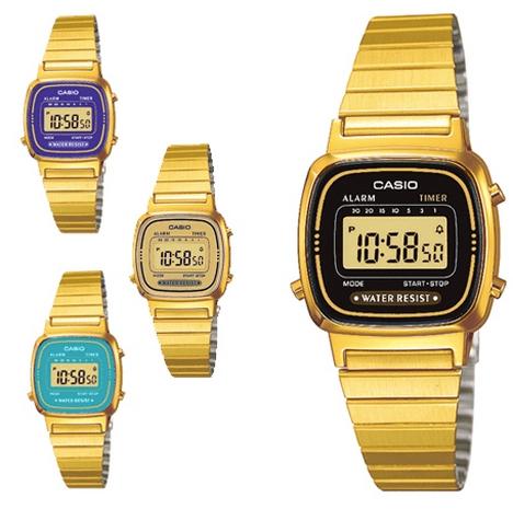 Med sina digitala klockor togCasio80-talet med storm, och intresset för deras ur är enormt än idag.Lika sant som att bra design aldrig blir omodern, lika sant är att Casios klockor aldrig går ur tiden. Tick tack säger vi till Casio som fortsätter skapa tidlösa förpackningar för tid.