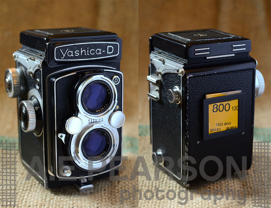 """Yashica D TLR Review - The BEST Budget Medium Format Camera Ever Made!<br /> As with many photographers, I myself am abit of a HUGE photographyequipmentnerd. It's hard not to be honestly. There are so many incredibly cool cameras, think about some of the factors that contribute to the diversity for a second:<br /> 150 years or so of research anddevelopment<br /> Varying film formats (a variety of small, medium, and large formats)<br /> Consumer taste<br /> Manufacturing and materials trends and developments<br /> Competition!<br /> Being a photographer, I have the fortunate disposition of being in a field where the tools of my trade are often bona-fide antiques. For a guy that spends weekends wandering through thrift shops and antique stores, it's a blessing. I mean, not only are some of the older cameras I've owned absolutely gorgeous pieces of mechanical beauty - but they TAKE FREAKIN' PICTURES. Yes, that's right, even my 100 year old folder camera my aunt gave me takes pictures. After all this time - they are still relevant tools of the trade.<br /> Ah. Mazing.<br /> With all that said, I have owned/use a LARGE variety of cameras. Whether it be 16mm, 35mm, Medium Format, or Large Format - I'm on a perpetual search for the """"perfect camera"""".<br /> The *right* camera isn't always affordable - but then comes the Yashica D. This camera is, in my opinion, one of the best all-around medium format cameras on the market. It's not a Hasselblad, or a Rollei…but it's also something you can find ALL DAY LONG for well under $100. This one, in the incredible condition it's in, set me back $81.If you are reading this you probably are aware of the current used prices these days of quality medium format cameras, and you are probably picking your jaw up off the ground right now too ($81?!?!).Why do I love it, and why should you go buy one RIGHT NOW?</p> <p>The fit is near perfect. The layout of the winding knob, focus knob, shutter speed and aperture dials, shutter cocking lever, a"""