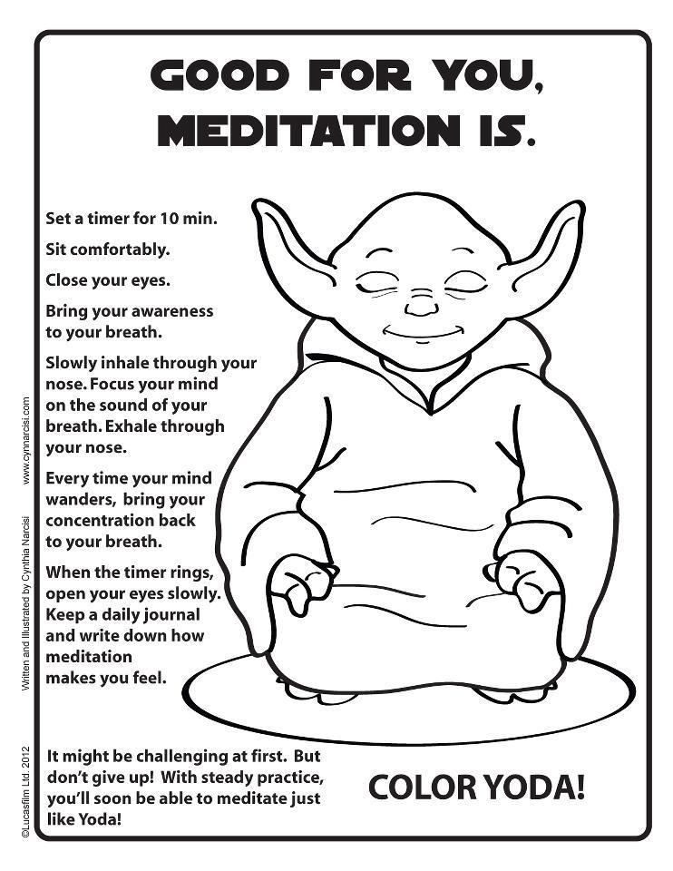Jedi Grrrl • meme-meme: Try it. Good for you, meditation...