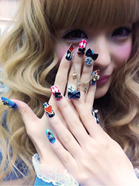 High Fashion Nails in Japan