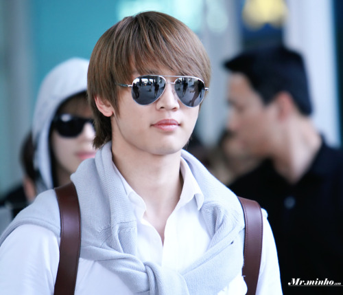 Handsome Minho arrival @ Incheon Airport from LA 120522 #2  Click image in new tab for full size Credit: MrMinho Handsome Minho arrival @ Incheon Airport from LA 120522 http://tmblr.co/ZGt9AyLxRIRK