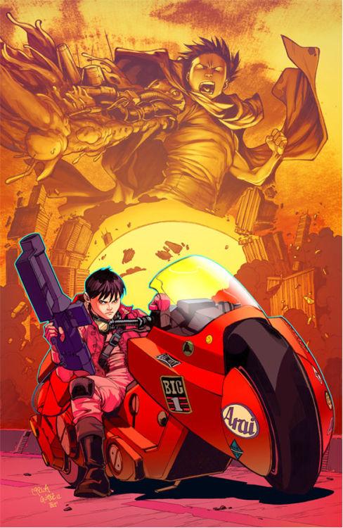 xombiedirge:  Akira by Carlos Gomez &Teodoro Gonzalez/ Tumblr