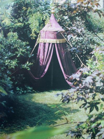 Dornish garden tent