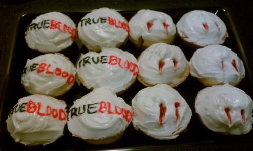 Fabulous True Blood cupcake I made!