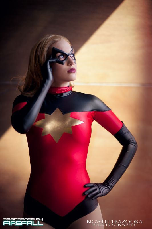 Moonstone as Ms. Marvel