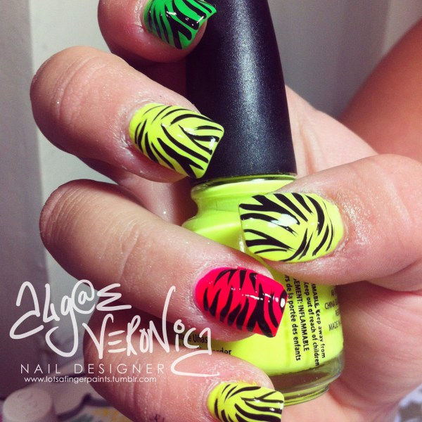 9 Neon Nail Art Design With Styles Life