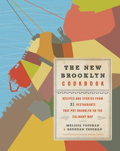 """feedingbigsexycookbooks:  The New Brooklyn Cookbook: Recipes and Stories from 31Restaurants That Put Brooklyn on the Culinary Map Melissa Vaughan and Brendan Vaughn Filled with mouthwatering recipes, beautiful photographs, and scenes from some of the most vibrant restaurants in America today, The New Brooklyn Cookbook celebrates the wave of culinary energy that has transformed this thriving borough and infused its kitchens and dining rooms with passion, vigor, and big flavors. Starring the trail-blazing chefs and entrepreneurs who made it all happen, this gorgeous book helps readers recreate the signature dishes of Brooklyn in the comfort of their own kitchens. With enthusiasm and insight, husband-and-wife duo Melissa and Brendan Vaughan highlight the """"new"""" tastes of Brooklyn, including: Steak and Eggs Korean Style (The Good Fork) Cast-Iron Chicken with Caramelized Shallots and Sherry Pan Sauce (Vinegar Hill House) Seared Swordfish with SautÉed Grape Tomatoes, Fresh Corn and Kohlrabi Salad, and Avocado Aioli (Rose Water) Beef Sauerbraten with Red Cabbage and Pretzel Dumplings (Prime Meats) Doug's Pecan Pie Sundae (Buttermilk Channel) Hoppy American Brown Ale—Home Brew Version (Sixpoint Craft Ales brewery) The Vaughans also profile some of Brooklyn's best food makers and purveyors, from cheesemakers and picklers to chocolatiers and bakers, giving readers an inside look at the ingredients behind their favorite restaurant dishes and the food culture that supports their creation. Featured Restaurants: Al Di LÀ The Grocery Saul Rose Water Convivium Osteria Locanda Vini e Olii DuMont Aliseo Osteria del Borgo Marlow & Sons Franny's iCi Applewood Egg Northeast Kingdom The Good Fork Dressler The Farm on Adderley Flatbush Farm Palo Santo Lunetta Beer Table James The General Greene Five Leaves Char No. 4 No. 7 Buttermilk Channel Roberta's Vinegar Hill House Prime Meats The Vanderbilt Plus: Interviews with Ten of Brooklyn's most popular artisanal food producers"""