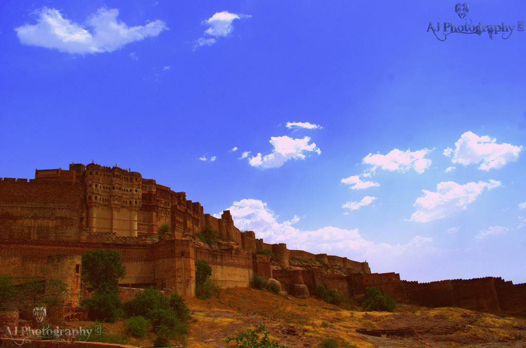 Mehrangarh Fort, Jodhpur, Rajesthan, India At Flickr By Ajay Singh Kharayat