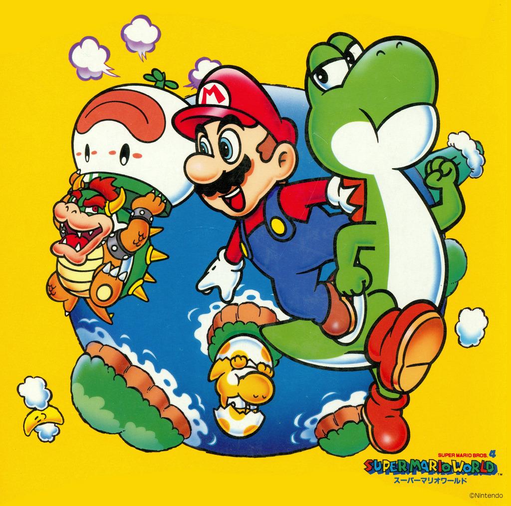 Rare Super Mario 4 Poster