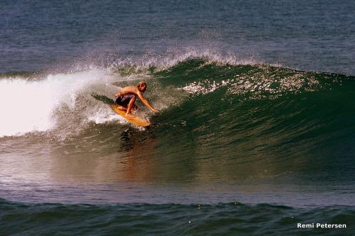Remi Petersen Alaia Surfing