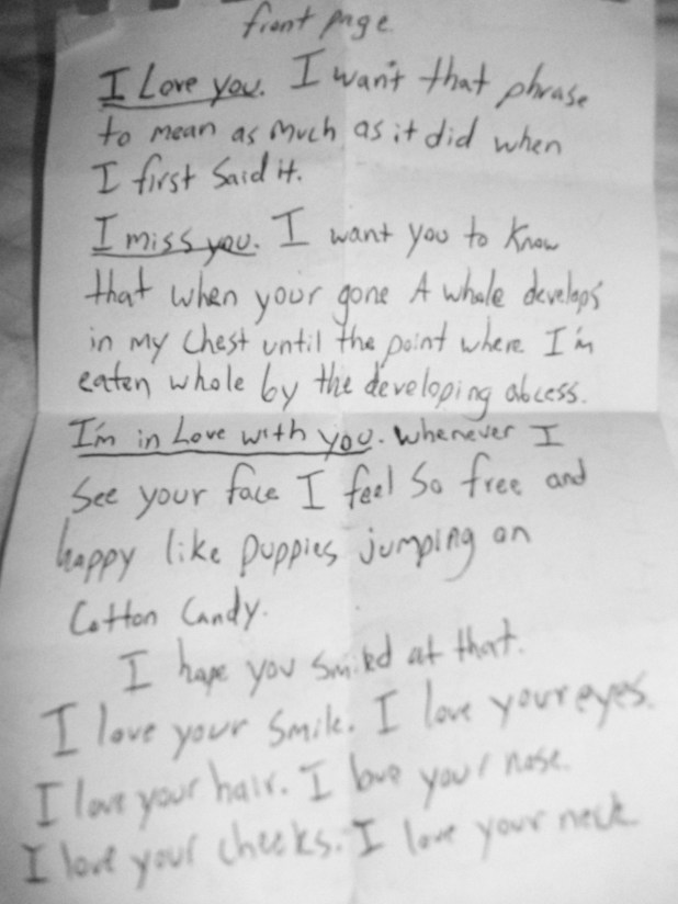 Best I Love You Letters For Him Yahoo Image Collection