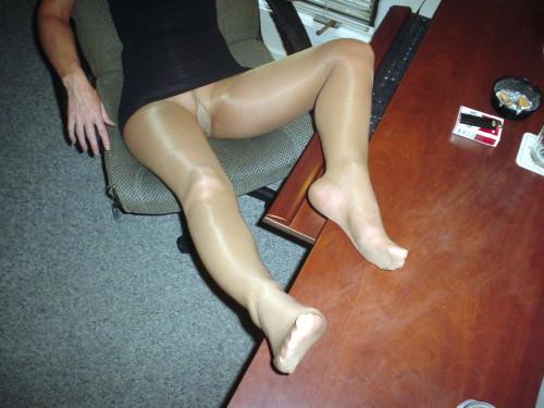 wearing stockings Traps