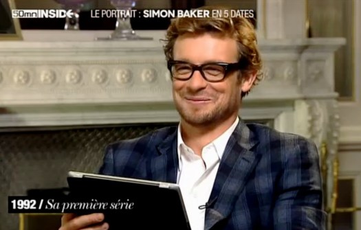 French Interview Simon Baker when he was young