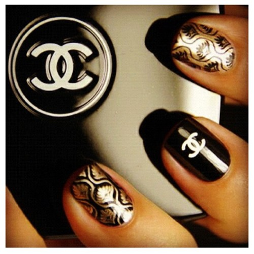 Nail obsession chanel nail designs le belle amour share the love prinsesfo Choice Image